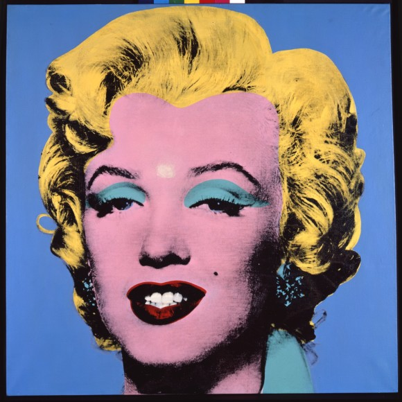 Andy Warhol Blue Shot Marilyn