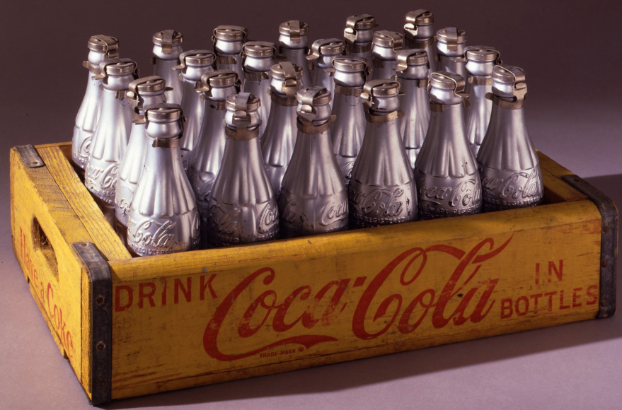 Andy Warhol Silver Coke Bottles