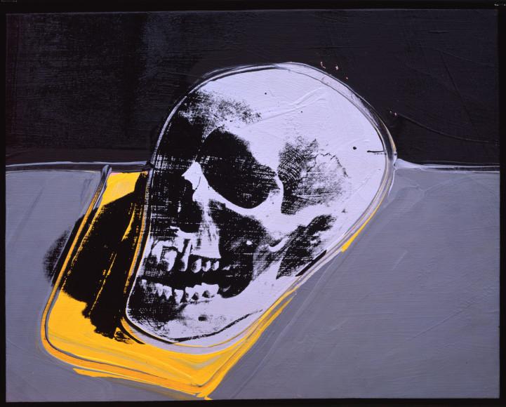 Andy Warhol Skull