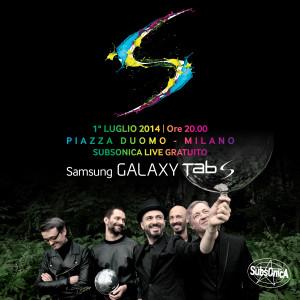 evento Samsung Tab S 1° luglio