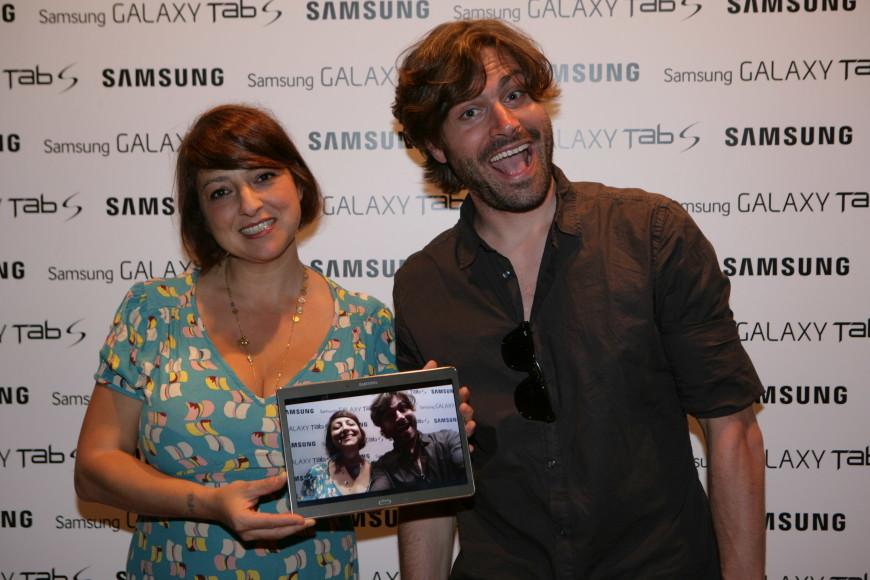 Federico Russo e Marisa Passera