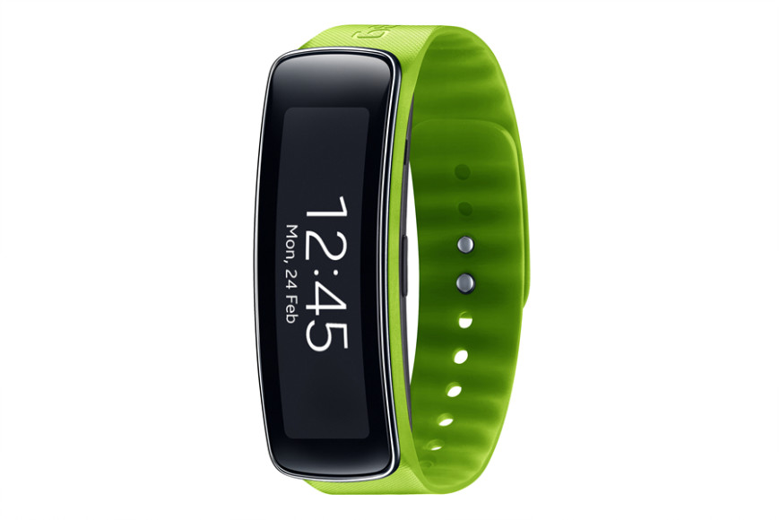 Samsung Gear Fit_Green_lateral