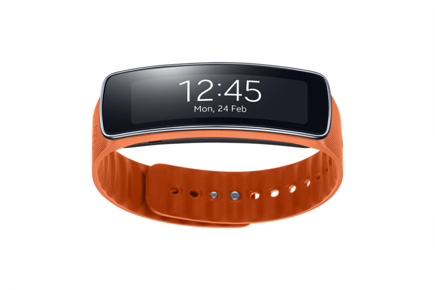 Samsung Gear Fit_orange_front